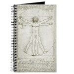 Da Vinci Vitruvian Man Journal