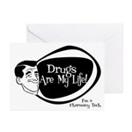 Manly Pharmacy Tech Greeting Cards (Pk of 10)