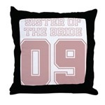Pink Bride Sister 09 Throw Pillow