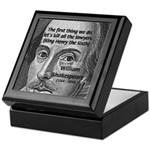 William Shakespeare Keepsake Box