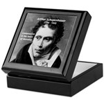 Arthur Schopenhauer Truth Keepsake Box