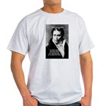 Schopenhauer Philosophy Truth Ash Grey T-Shirt