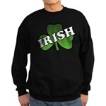 Green Shamrock Shamrock Sweatshirt (dark)