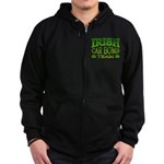 Irish Car Bomb Team Shamrock Zip Hoodie (dark)