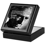 Philosopher Bertrand Russell Keepsake Box