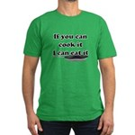 You Cook I Eat Men's Fitted T-Shirt (dark)