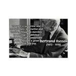Philosophy Bertrand Russell Rectangle Magnet (100
