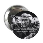 Bertrand Russell Philosophy Button
