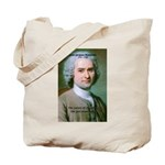 French Philosopher Rousseau Tote Bag