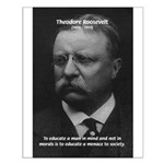 President Theodore Roosevelt Small Poster
