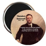 "Theodore Roosevelt 2.25"" Magnet (10 pack)"