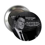 President Ronald Reagan Button