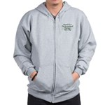 Because Occupational Therapist Zip Hoodie