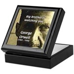 Orwell Big Brother 1984 Keepsake Box