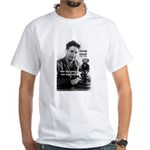 Modern Fable Writer Orwell White T-Shirt