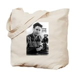 Politics / Language: Orwell Tote Bag