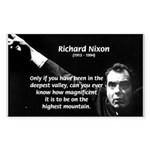 Motivation Richard Nixon Rectangle Sticker