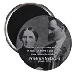Nietzsche Love Madness Reason Magnet
