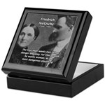 Man and Woman: Nietzsche Keepsake Box