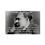 Christian Morality / Nietzsche Rectangle Magnet