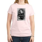 Christian Morality / Nietzsche Women's Pink T-Shir