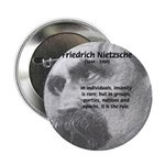 "Group Insanity: Nietzsche 2.25"" Button (10 pack)"