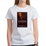 Mozart's Work: Symphony, Piano Women's T-Shirt