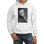 Music, Genius and Mozart Hooded Sweatshirt