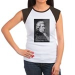 Music, Genius and Mozart Women's Cap Sleeve T-Shir