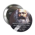 "Union of Workers: Marx 2.25"" Button (100 pack)"