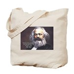 Union of Workers: Marx Tote Bag