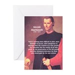 Political Theory: Machiavelli Greeting Cards (Pack