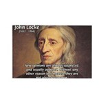 Change and John Locke Rectangle Magnet (10 pack)
