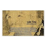 Law of Nature: Lao Tzu Rectangle Sticker