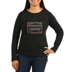 Enforce The Rules Women's Long Sleeve Dark T-Shirt