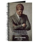 Man / War John F. Kennedy Journal