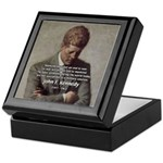 Man / War John F. Kennedy Keepsake Box