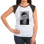 Power of the Idea JFK Women's Cap Sleeve T-Shirt