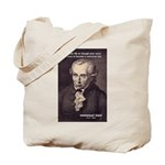 Universal Law: Kant Tote Bag