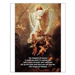 Jesus Kingdom of Heaven Small Poster