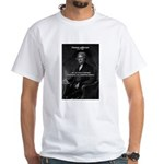 President Thomas Jefferson White T-Shirt