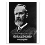 Pragmatic William James Small Poster