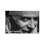 Humanist Aldous Huxley Rectangle Magnet