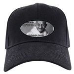 Loyalty to Cause: Gandhi Black Cap