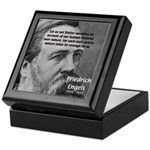 Nature versus Humanity: Engels Keepsake Box