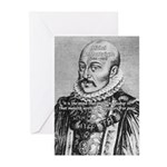 Power of Mind: Montaigne Greeting Cards (Package o