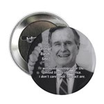 "Politics George W. Bush Snr 2.25"" Button (100 pack"