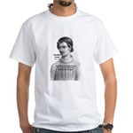 Freedom of Thought Bruno White T-Shirt