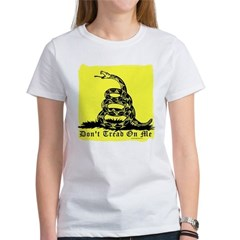 Don't Tread On Me Gadsden Women's T-Shirt