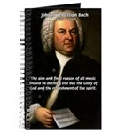Glory God Music J. S. Bach Journal